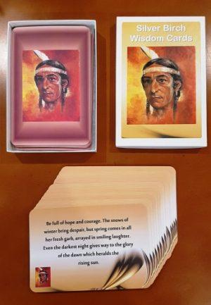 Silver Birch Wisdom Cards